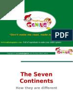 Make Me Genius Continents