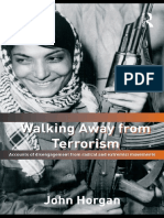 Walking Away From Terrorism