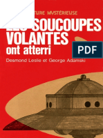 Les Soucoupes Volantes Ont Atterri - Desmond Leslie & George Adamski