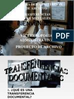 TRANSFERENCIAS DOCUMENTALES