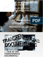 TRANSFERENCIAS DOCUMENTALES