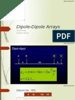 Dipole Dipole Arrays