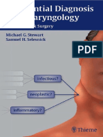 Differential Diagnosis in ENT