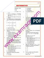 Mathematics Objective Questions Part 1 (1)