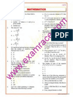 Mathematics Objective Questions Part 11