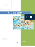 New Hope City Proposal