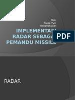 Implementasi Radar Sebagai Pemandu Missile