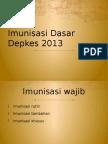Imunisasi Dasar Depkes 2013