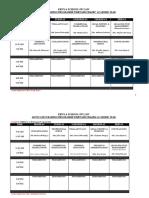 ATP Term 1 2016 Timetable