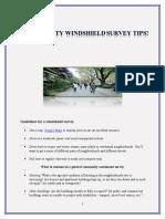 Windshield Survey