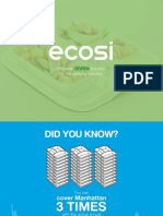 Ecosi First Ever Green Solution