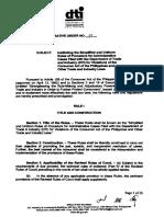 2. DAO 7.Series 2006.Simplified Uniform Procedure for Administrative Cases