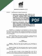 3. DAO 13-02.Series 2013.Amendments on DAO 7. Series 2006