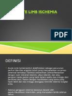 Acute Limb Ischemia