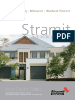 NSW Roofing Walling Rainwater and Structural Products Brochure