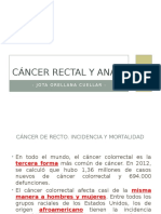 Cáncer Rectal y Anal