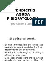 Apendicitis aguda. Fisiopatología