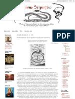 Veneno Serpentino_ a Hipóstase Da Transformação Serpentina