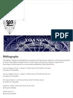 Bibliography _ Xoanon