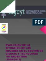 Mujeres Ciencia y Tecn en Argentina