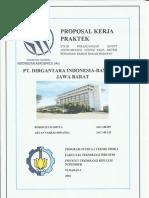 Proposal Kerja Praktek PT. Dirgantara Indonesia