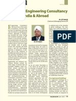 Growth of Engineering Consultancy Sector India Abroad