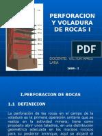 Perforación y Voladura de Rocas - UNIVERSIDAD NACIONAL DEL CENTRO DEL PERU