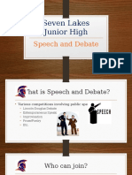 speech and debate intro