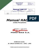 Manual Haccp Peru Mas-linea Pre Pizzas