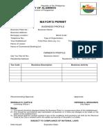 Mayor's Permit