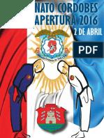 Reglamento Cordobes Apertura 2016