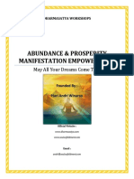 Abundance Prosperity Manifestation Empowerment