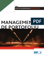 2012 Pulse Portfolio Management Report