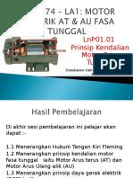 Docfoc.com-LnP01.01 Prinsip Kendalian Motor Fasa Tunggal