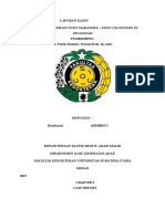 MORBILI + GIZI KURANG POST MARASMUS + POST-COLOSTOMY EC INVAGINASI (Handayani)