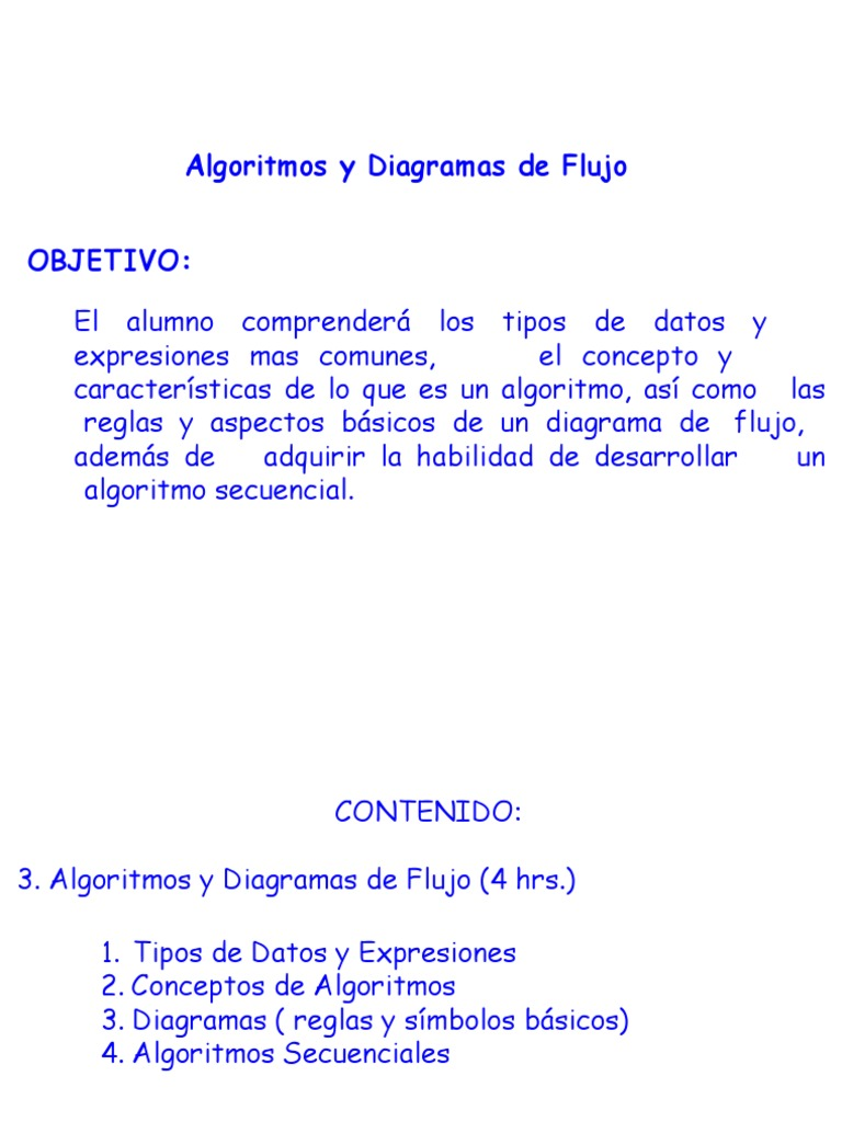 Algoritmos y diagramas de flujo ccuart Choice Image