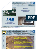 Diseno Geotecnico y Geomecanico