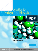 [Bower D.I.] an Introduction to Polymer Physics