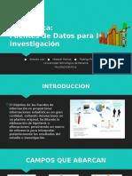 Estadística(Fuentes de Información)