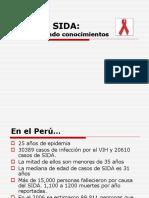 El VIH y SIDA