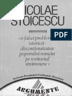 O falsă problemă istorică - discontinuitatea poporului român pe teritoriul strămoşesc.pdf