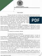 Decisão que bloqueou bens de José Florisval de Ornelas + 5