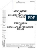 De-930525 Submarine Cables