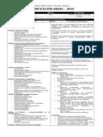 Planificación Anual M2 2016