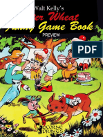 Walt Kelly's Peter Wheat Funny Game Book