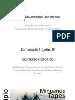 Contexto Historico Santa Maria RS