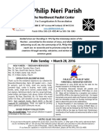 Bulletin for March 20 2016