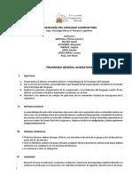 Programa Psicolog a Del Lenguaje 12-13