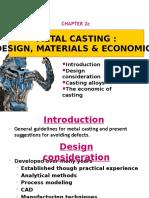 Casting Design Economics