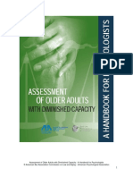 Assessment of Older Adults With Diminished Capacity